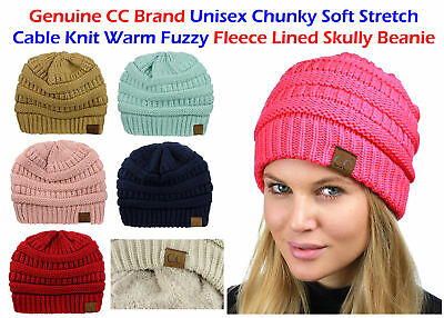 a13af4f07ae63 Bubble Knit Slouchy CC Baggy Beanie Oversize Winter Hat Ski Cap Skull Women  US