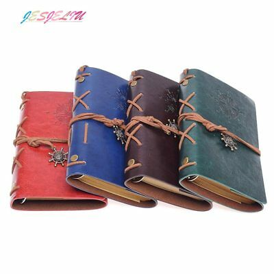 Leather Journal Traveler's Notebook Notepad Diary Planner Gift for Men and Women