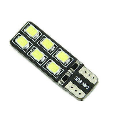 Best Car LED Light Error Free CANBUS T10 2W W5W 194 168 2825 2821 12-SMD HS