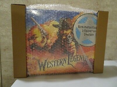 Western Legends board game KS edition + all expansions