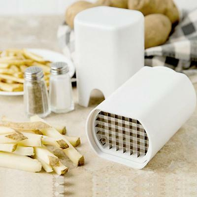 One Step Perfect Fries Natural French Fry Cutter Vegetable Fruit Durable Potato