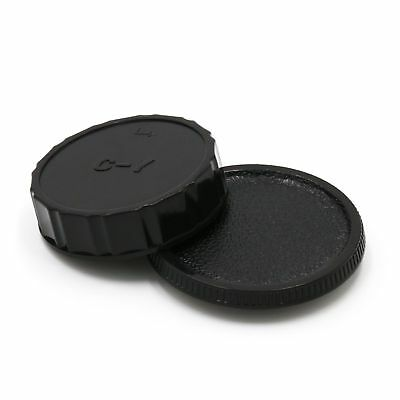 Camera Body + Rear Lens Cap for Contax Yashica C/Y CY mount Lens NEW