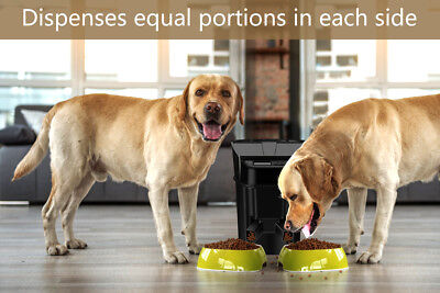 Feed Automatic Feeder Dispenses Equal Portion For Pet Safe Healthy Plug And Play