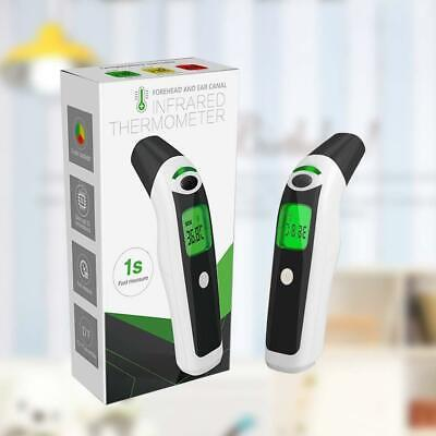 NEW Infrared Digital Thermometer Medical Forehead and Ear for Baby Kids Adults