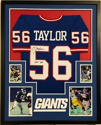 Lawrence Taylor Giants Nameplate For A Football Jersey