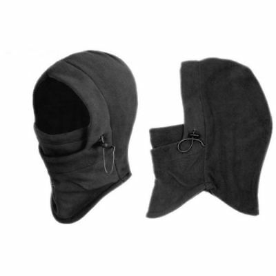 Thermal Motorcycle Fleece Balaclava Neck Winter Ski Full Face Mask Cover Hat S