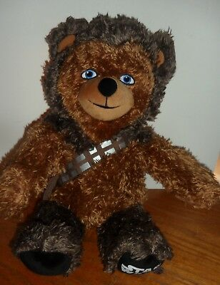 B.A.B Build a Disney Star Wars Chewbacca Teddy Bear Plush Doll Toy Stuffed