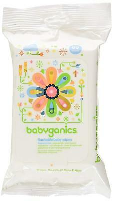 Flushable Baby Wipes Fragrance Free Skin Nourishing Naturally Soothing 3 Pack