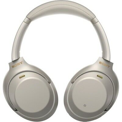 Sony Wireless Noise Cancelling Headphones Auriculares (WH-1000XM3) - [PLATA]