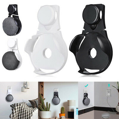 US/EU Plug Wall Mount Compact Hanger Holder Stand For Google Home Mini Voice New