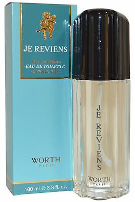 Worth Je Reviens EDT Eau de Toilette Spray 100ml Womens Fragrance