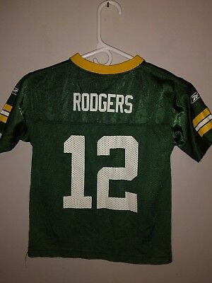 low priced 8489a ec743 NFL REEBOK GREEN Bay Packers AARON RODGERS Jersey Stitched ...