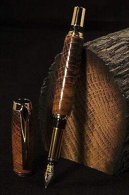 700 Year Old York Minster Cathedral Oak Pen (Fountain Pen) without Booklet