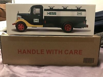 2018 Collector's Edition Hess Truck 85th Anniversary - FREE PRIORITY SHIP!!