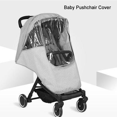 Waterproof Buggy Rain Cover Universal Raincover For Baby Pushchair Stroller Pram