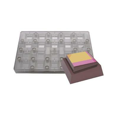 24 double layer square MAGNETIC mould chocolate dessert candle mould MisterChef®