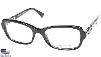 4472fb3cfeea COACH HC 6075Q 5002 BLACK EYEGLASSES GLASSES STORE DISPLAY MODEL 52-18-135  B36mm