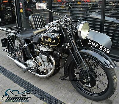 1936 SUNBEAM LION 500cc SIDE CAR COMBINATION * TAX & MOT EXEMPT * CLASSIC