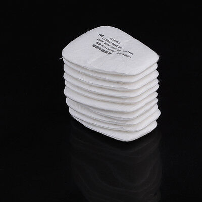 10pcs/5 pair 5N11 Particulate Cotton Filter For Mask 5000,6000,7000 Series 9U