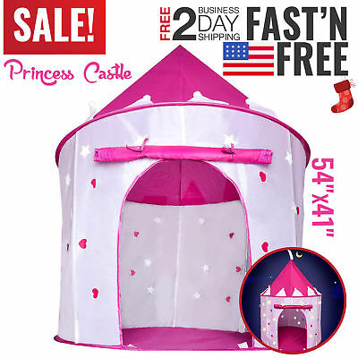 Toys For Girls 3 10 Years Old Kids Pop Up Play Tent House Christmas Gifts NEW