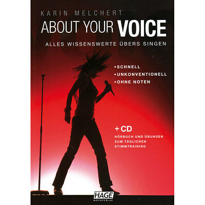 Lehrbuch Hage About your Voice Musik Buch NEU