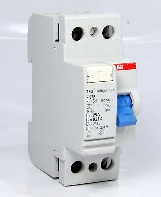 Abb Rccd  Protection Switch F372 2 Pole 25A