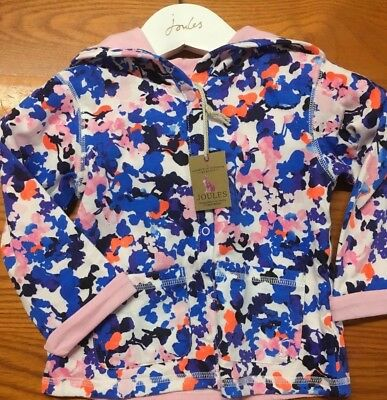 Joules Baby Cuddle Baby Girls Jersey Jacket, Ditsy, Various Sizes.new With Tags