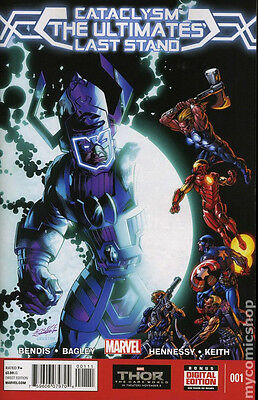 Cataclysm: The Ultimates Last Stand 1,3 variant cover, Marvel, Bendis, 2 bk lot
