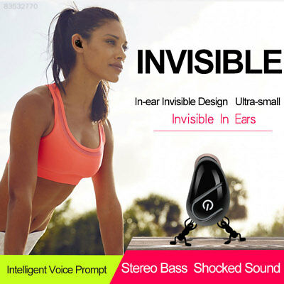 F62A In-Ear Stereo Bluetooth 4.1 Invisible Wireless Bluetooth Headphone