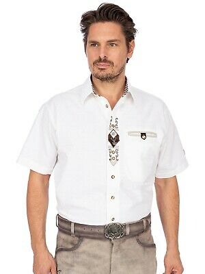 Orbis Traditional Shirt Sticklegende short Sleeve Dirk White