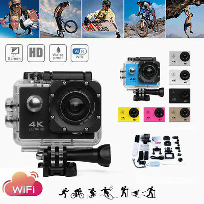 SJ9000 4k Action Sports Camera Waterproof WiFi Cam DV Action Video Camcorder 2""