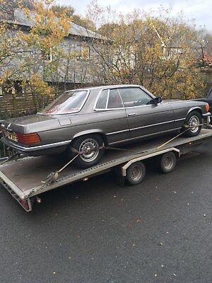1979 Mercedes-Benz 450 SLC ( R 107 ) 83000 miles 11 months  mot part ex why