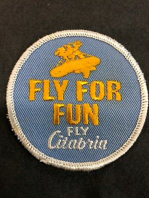 Vintage Fly for Fun Fly Citabria plane patch