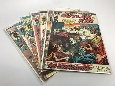 The OUTLAW KID Issues #14,23,24,25,26,29,30 MARVEL COMICS - BRONZE AGE WESTERN