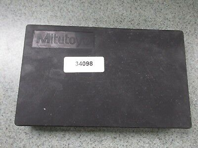 """Mitutoyo depth micrometer 4"""" base 0-6""""with case"""