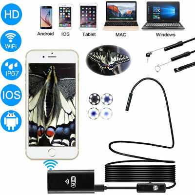 Wi-Fi APP Endoscope HD CMOS 2MP Camera Depstech Borescope + 5M Shadow line