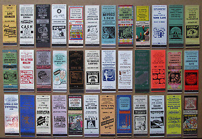 36 Diff Stock Cuts, Images Unstruck Matchcovers