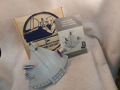 NEW IN BOX Davis Mark 3 Marine Sextant Full-Sized WITH INSTRUCTIONS GUARANTEED