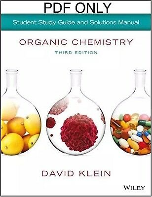 Organic Chemistry Study Guide 3rd Ed PDF 2 E-book (Textbook + Solution Manual)