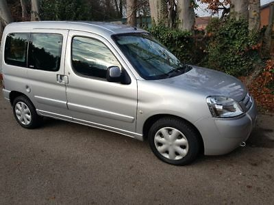 citreon berlingo multispace wheel chair CONVERSION 07 plate face lift DRIVES we