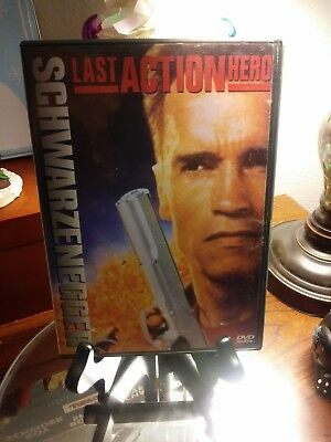 The Last Action Hero (DVD, 1997) - Great Arnold Movie - Very Good