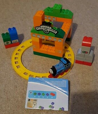 Mega Bloks~ Thomas & Friends~ Thomas at the Sodor Steamworks~ Part Set