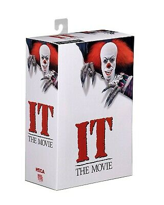 Figura Action PENNYWISE Stephen King Film IT 1990 Clown ULTIMATE Originale NECA