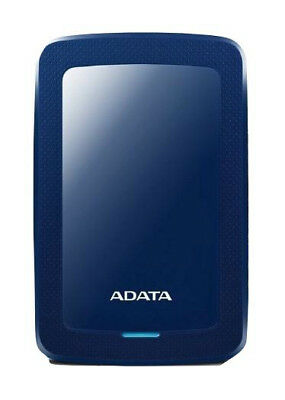 ADATA HDD Ext HV300 1TB Blue external hard drive 1000 GB Black - AHV300-1TU31-CB