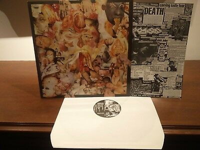 Carcass ‎– Reek Of Putrefaction Lp 1988 1° Uk  Issue Earache ‎ MOSH 6 Come Nuovo