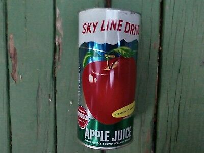 Quart skyline drive apple drink soda can
