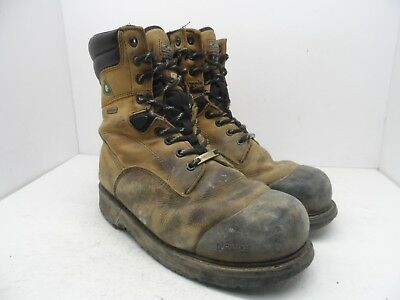 e78b49ea15f MEN'S CHINOOK OIL RIGGER Steel Toes Leather Work Safety Boots Size ...