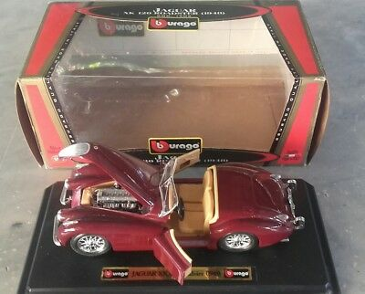 BURAGO Jaguar roadster scala 1/24 MIB