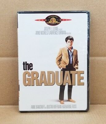 The Graduate (DVD, 2005) 1967 Movie Dustin Hoffman Anne Bancroft NEW & SEALED