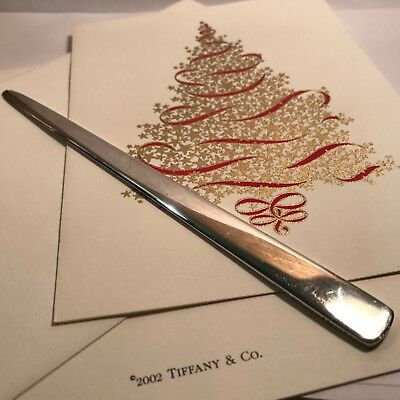 Tiffany & Co Vintage Sterling Makers Letter Opener Grams Scrap Or Not Scrap 1961